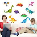 povoljno Slike sa životinjskim motivima-Dekorativne zidne naljepnice - 3D zidne naljepnice / Naljepnice za zidne zidove Životinje Stambeni prostor / Spavaća soba / Kuhinja