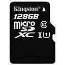 abordables Cartes Mémoire-Kingston 128GB TF carte Micro SD Card carte mémoire Class10