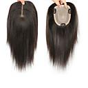 Недорогие Накладки из натуральных волос-Laflare Клип во / на хохол Расширения человеческих волос Прямой Натуральные волосы Удлинитель Накладки из натуральных волос Волосы Бразильские волосы 1 шт. Модный дизайн Мягкость Лучшее качество Жен.