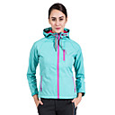 cheap Softshell, Fleece & Hiking Jackets-SUMMITGLORY® Women's Solid Color Hiking Softshell Jacket Outdoor Autumn / Fall Spring Thermal / Warm Windproof Rain Waterproof Jacket Softshell N / A Casual Outdoor Exercise Rose Red / Green / Winter
