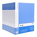 رخيصةأون طعم صيد الأسماك-10 pcs M&G ADMN4019 ملف مجلدات A4 PP شفاف علامة مميزة دليل الرطوبة