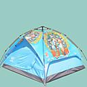 זול אוהלים וסככות-Sheng yuan 3 איש אוהלים לטיפוס הרים משפחה אוהל קמפינג חיצוני עמיד מוגן מגשם נשימה שכבה כפולה קמפינג אוהל 2000-3000 mm ל חוף מחנאות / צעידות / טיולי מערות לטייל בד אוקספורד 200*230*140 cm