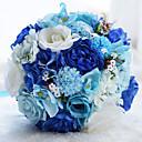 """זול פרחי חתונה-פרחי חתונה זרים מסיבת החתונה קֶצֶף 21-30  ס""""מ"""