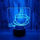 halpa Koristevalot-usb powered outo yövalo 3d kahvin visuaalinen pöytälamppu energiansäästö silmähoito johti kevyt pöytävalaisin olohuoneeseen<5v