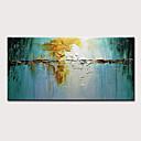 halpa Kukkamaalaukset-Hang-Painted öljymaalaus Maalattu - Abstrakti Maisema Moderni Sisällytä Inner Frame