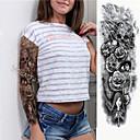 Недорогие Временные татуировки-1 pcs Временные татуировки Экологичные / Одноразового использования Корпус / плечо / ножка Картон Временные тату