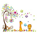 cheap Wall Stickers-Decorative Wall Stickers - Plane Wall Stickers Animals / Shapes Indoor / Kids Room