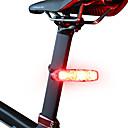 رخيصةأون اكسسوارات اكس بوكس 360-LED اضواء الدراجة ضوء الدراجة الخلفي أضواء السلامة أضواء الذيل دراجة جبلية ركوب الدراجة ضد الماء محمول سهل الحمل AAA 10 lm AAA أبيض طبيعي أخضر - ROCKBROS