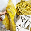 halpa Wedding Dress Fabric-Tylli Yhtenäinen  Joustamaton 140 cm leveys kangas varten Morsius myyty mukaan mittari