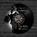 billige Vægure-klassisk mode vinyl cd record væg ur