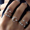 cheap Trendy Jewelry-Women's Active Alloy Crystal Solid Colored