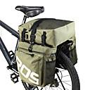 cheap Bike Frame Bags-ROSWHEEL 35 L Bike Panniers Bag 3 In 1 Adjustable Large Capacity Bike Bag PU Leather 600D Polyester Bicycle Bag Cycle Bag Cycling / Bike / Waterproof / Waterproof Zipper