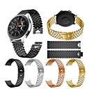 hesapli Smartwatch Bantları-Watch Band için Gear S3 Frontier / Gear S3 Classic / Samsung Galaxy Watch 46 Samsung Galaxy Spor Bantları / Takı Tasarımları Paslanmaz Çelik Bilek Askısı
