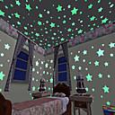 levne Samolepky na zeď-Ozdobné samolepky na zeď - 3D samolepky na zeď / Světelné samolepky na zeď Krajina Obývací pokoj / Ložnice / Kuchyň
