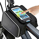 billige Bagagebærertasker-ROSWHEEL Mobiltelefonetui Taske til stangen på cyklen 5.5 inch Touch Screen Cykling for iPhone 8 Plus / 7 Plus / 6S Plus / 6 Plus iPhone X iPhone XR Sort Cykling / Cykel / iPhone XS / iPhone XS Max