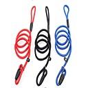 abordables Collares, Arneses y Correas para Perros-Perros Correas Paseo Ajustable / Retractable Listo para vestir Un Color Nailon Rojo Azul Negro