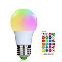 זול נורות LED חכמות-1pc 3 W נורות חכמות לד 200-250 lm E26 / E27 1 LED חרוזים SMD 5050 Smart Spottivalo עובד עם שלט רחוק RGBW 85-265 V / RoHs / FCC
