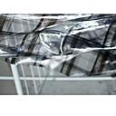 halpa Fashion Fabric-PVC Geometrinen VEDENPITÄVÄ 130 cm leveys kangas varten Vaatteet ja muoti myyty mukaan 0,45 m