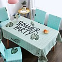 cheap Table Cloths-Classic Casual 120g / m2 Polyester Knit Stretch Crocodile Square Table Cloth Patterned Printing Water Resistant Flower Table Decorations