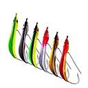 رخيصةأون طعم صيد الأسماك-6 pcs خدع الصيد قلم رصاص طعم معدن المعدنية عام تزلج سريع الصيد البحري إغراء الصيد الصنارة وقارب صيد