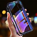 halpa iPhone kotelot-Etui Käyttötarkoitus Apple iPhone XS / iPhone XR / iPhone XS Max Ultraohut / Läpinäkyvä / Magneetti Suojakuori Yhtenäinen Kova Karkaistu lasi / Metalli