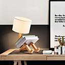 halpa Työpöytävalaisimet-Moderni nykyaikainen / Uutuus Säädettävä / Lovely Pöytälamppu Käyttötarkoitus Olohuone / Makuuhuone Puu / bambu 110-120V / 220-240V
