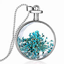 cheap Necklaces-Women's Pendant Necklace Necklace Glass Chrome Silver 60 cm Necklace Jewelry 1pc For Daily School Street Holiday Festival