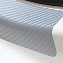 זול מכונית קישוט סורג הקדמי-אוניברסלי 4pcs 60cm x 6.7cm אדן לשפשף נגד שריטה סיבי פחמן אוטומטי הדלת מדבקה רכב אביזרים