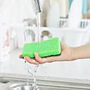 halpa Keittiön lavuaarihanat-Keittiö Siivoustarvikkeet Nylon mikrokuituliina Sponge polyesterikuitua Pesusieni Uusi malli Suoja Työkalut 1set