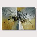 halpa Maisema maalaukset-Hang-Painted öljymaalaus Maalattu - Maisema Abstraktit maisemakuvat Comtemporary Moderni Sisällytä Inner Frame