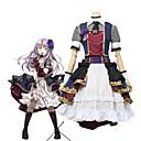 voordelige Gaming kostuums-geinspireerd door Cosplay Cosplay Anime Cosplaykostuums Cosplay Kostuums Andere Mouwloos / Korte mouw Other / Rokken / Ves Voor Unisex