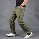 זול מכנסים וחולצות להייקינג-בגדי ריקוד גברים מכנסיים לטיולי הליכה מכנסי קרגו חיצוני נושם למניעת קרעים עמיד ללבוש התנגדות סתיו חורף מכנסיים תחתיות מחנאות וטיולים ציד דיג ירוק צבא קרם חאקי XXL XXXL 4XL