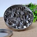 halpa Leivontavälineet-2pcs Ruostumaton teräs Uutuusvälineet keittiöön jälkiruoka Työkalut Bakeware-työkalut