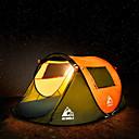رخيصةأون مفارش و خيم و كانوبي-Hewolf 3 شخص خيمة التخييم العائلية في الهواء الطلق ضد الهواء مكتشف الأمطار يمكن ارتداؤها طبقة واحدة قطب الماسورة خيمة التخييم 1500-2000 mm إلى Camping / Hiking / Caving تنزه