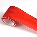 """זול רכב הגוף קישוט והגנה-אדום מדבקה רפלקטיבית פלורסנט 5 ס""""מ x 5 מטר רכב משאית אופנוע קלטת קלטת המכונית זוהר רצועת"""
