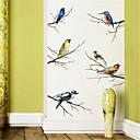 halpa Seinätarrat-persoonallisuus makuuhuoneen kaappi koristelu väri haara lintu itseliimautuva seinä tarroja tarrat taide olohuone tutkimus tapetti tarroja