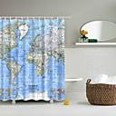 hesapli Duş Perdeleri-Shower Curtains & Hooks Çağdaş / Klasik Plastikler / Polyester Su Geçirmez / Yaratıcı / Havalı
