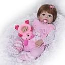 abordables Muñecas reborn-FeelWind Muñecas reborn Bebés Niñas 22 pulgada Cuerpo completo de silicona - Niños / Adolescentes Kid de Unisex Juguet Regalo