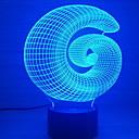 halpa Koristevalot-1kpl LED Night Light USB Luova <=36 V
