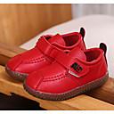 halpa Lasten saappaat-Tyttöjen Canvas / Tekonahka Bootsit Taapero (9m-4ys) Comfort Musta / Keltainen / Punainen Syksy / Nilkkurit