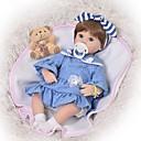 halpa Reborn Dolls-FeelWind Reborn Dolls Tyttövauvat 18 inch Silikoni - Lapset / nuoret Ihana Lovely Lasten Unisex Lelut Lahja