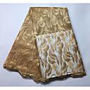 billiga Hantverk och sömnad-Afrikansk spets Enfärgat Mönster 120 cm bredd tyg för Brudkläder såld vid Yard