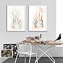 cheap Framed Arts-Framed Canvas Framed Set - People Sports Plastic Illustration Wall Art
