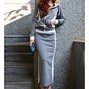 رخيصةأون صنادل نسائية-مجموعة مايوه تنورة نسائي لون سادة