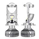 preiswerte Auto Scheinwerfer-SO.K 2pcs H4 Auto Leuchtbirnen 30 W COB 10000 lm 2 LED Scheinwerfer Für Alle Jahre