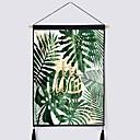 halpa Seinämaalaukset-Kukkais-teema Wall Decor Polyesteri Nykyaikainen Wall Art, Seinävaatteet Koriste