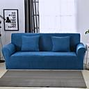 זול כיסויים-כחול עמיד רך גבוה למתוח slipcovers הספה לכסות לשטוף את הספנדקס הספה מכסה