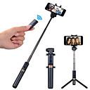 halpa Kolmi- ja yksijalkajalustat-APEXEL Selfie-tikku Bluetooth Pidennettävä Maksimi pituus 68 cm Käyttötarkoitus Kansainvälinen Android / iOS Universaali
