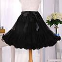 povoljno Stare svjetske nošnje-Balet Classic Lolita 1950-te Haljine Petticoat kratka baletska suknja Krinolina Žene Djevojčice Til Kostim Crn Vintage Cosplay Party Seksi blagdanski kostimi Princeza