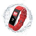 billige Turmøbler-Indear 115PRO Dame Smart armbånd Android iOS Bluetooth Smart Sport Vanntett Pulsmåler Blodtrykksmåling Pedometer Samtalepåminnelse Søvnmonitor Stillesittende sittende Påminnelse Vekkerklokke